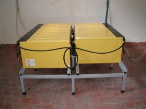 Доставка и монтаж на оловно-киселинна акумулаторна батерия с номинално напрежение 228V и капацитет 125Ah@C10, съставена от 19 елемента PowerSafe 12V125F.