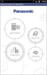 Panasonic Battery Finder