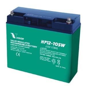 VRLA Vision HP12-105W-X - 12V 17Ah